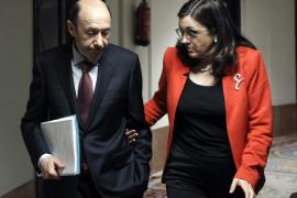 RUBALCABA Y RODRÍGUEZ ABANDONAN EL CONGRESO TRAS LA PRIMERA SESIÓN DEL DEBATE SOBRE EL ESTADO DE LA NACIÓN
