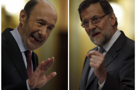 Rubalcaba a Rajoy: «No puede gobernar estando pendiente de Bárcenas»