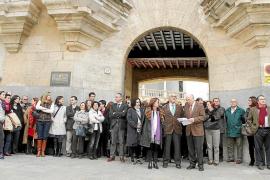 El 39 % de los jueces secunda una huelga histórica en Balears al unirse los fiscales