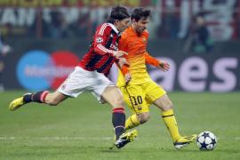 El Barça, ante un panorama sombrío tras tropezar en Milán (2-0)