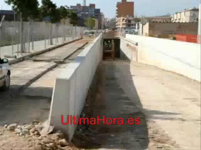 El túnel de la vía de cintura a la carretera de Manacor estará acabado en junio