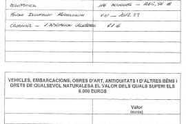 Una declaración complementaria destapa que Bauzá ocultó sus negocios al Parlament