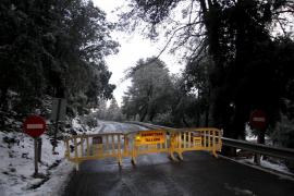 Reabierta al tráfico la carretera de acceso a Sa Calobra, aunque se mantiene la alerta amarilla
