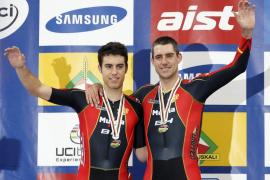 Muntaner y Torres logran una plata en el Mundial de ciclismo en pista