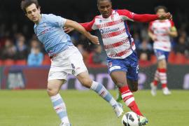 El Celta gana al Granada en el debut de Abel Resino