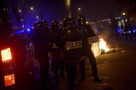 45 Detenidos, nueve de ellos menores, y 40 heridos tras la Marea Ciudadana