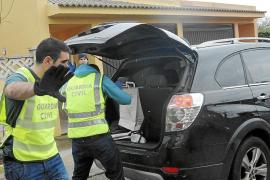 Dos nuevos detenidos en la gran operación antidroga de la Guardia Civil en Santa Ponça