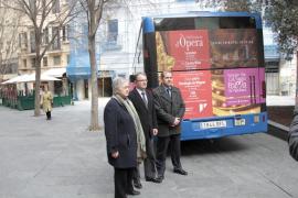 La EMT promociona la Temporada  de ópera del Teatre Principal
