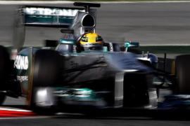 Hamilton cierra la penúltima sesión de ensayos con el mejor tiempo