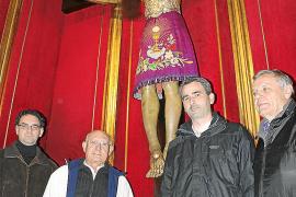 Una multitud acompañará al Sant Crist de Manacor en su visita al núcleo de Porto Cristo