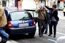 El hombre de 82 años implicado en la muerte de su mujer en Palma: «No hay nada que decir»