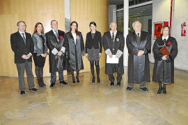 Entrega del X Premi Luis Pascual González en el Col.legi d'Advocats
