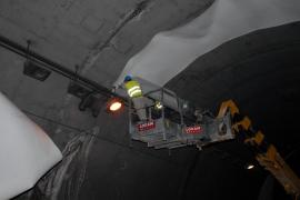 La concesionaria quiere adelantar la apertura del túnel de Sóller para antes del Firó, el 10 de mayo