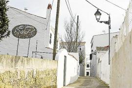 Calles de Es Migjorn Gran, pueblo de Menorca