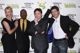 Cameron Diaz, Eddie Murphy, Mike Myers y Antonio Banderas