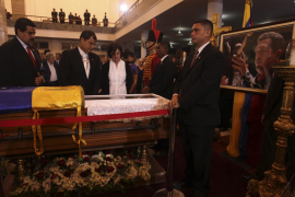 funeral de Hugo Chávez