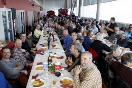 El alcalde Isern destaca la profesionalidad de los Bombers de Palma durante su diada