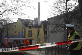 Siete niños y una mujer mueren en incendio en Alemania