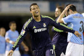 Cristiano catapulta al Real Madrid en Balaídos