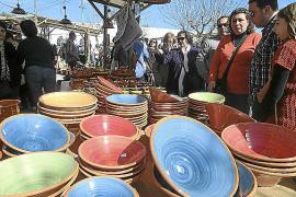 La Fira del Fang de Marratxí congregó a cientos de visitantes en una jornada con ambiente primaveral