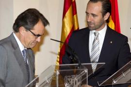 Bauzá acusa a Mas de «intentar tapar su mala  gestión con su ego»