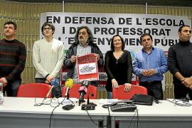 La comunidad educativa se planta ante «la política represiva» de Educació