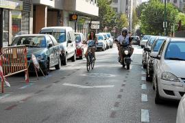 Las bicis podrán ir por las aceras de más de tres metros sin aglomeraciones