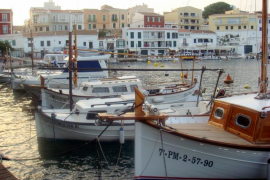 Cales Fonts, en el municipio de Menorca Es Castell
