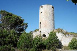 Molí d'en Guela o d'en Penjat en Es Castell, Menorca