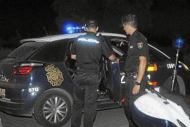 Cinco detenidos en Palma por dar una paliza a un hombre para robarle cinco euros