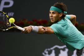 Nadal se exhibe ante Federer