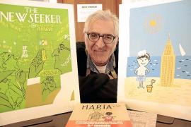 Miguel Gallardo aterriza en Ciutat para hablar de su libro 'Los viajes de María'