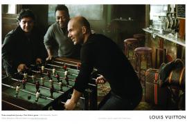 Zidane, Pelé y Maradona protagonizan la nueva campaña de Louis Vuitton