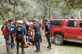 Cinco rescates en Mallorca obligan a los equipos de emergencia a multiplicarse