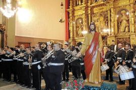 La cofradía Jesús del Buen Perdón celebró su XXV aniversario en Palma