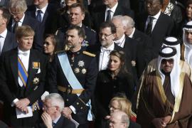LOS PRÍNCIPES, RAJOY Y TRES MINISTROS ASISTEN A LA ENTRONIZACIÓN DEL PAPA