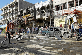 Una cadena de atentados deja 60 muertos en el aniversario de la guerra de Irak