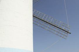Molí de Dalt en Sant Lluís, pueblo de Menorca