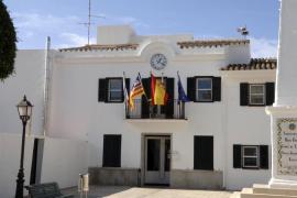 FACHADA DEL AYUNTAMIENTO DE SANT LLUIS, Menorca