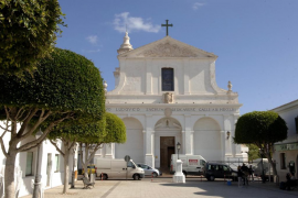 iglesia de Sant Lluís, pueblo de Menorca