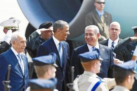 Obama reafirma la «eterna alianza» de EEUU con Israel en su visita al país