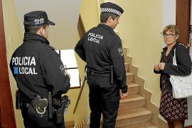 La policía desaloja a los ocupas de una vivienda de Son Gotleu