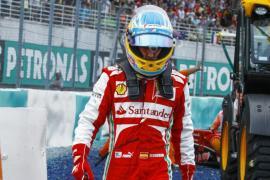 Alonso: «Hemos tenido mala suerte»