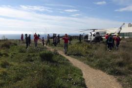 Herido grave un parapentista acrobático al estrellarse en un acantilado de Puig de Ros