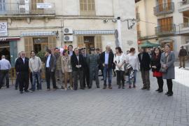 Miquel Cifre se despide como alcalde de Santa Margalida durante la celebración de la Fira