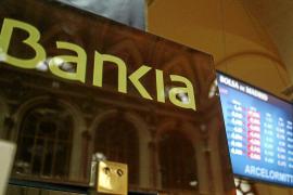 Bankia se desploma un 41,43 % tras la rebaja de sus acciones a un céntimo