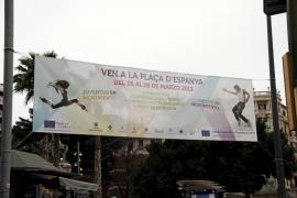 La iniciativa 'Juventud en movimiento' se instala en Palma hasta el jueves