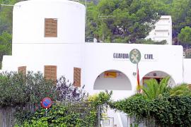 IBIZA - CUARTEL DE LA GUARDIA CIVIL DE SANTA EULARIA .