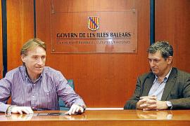 PALMA - RUEDA DE PRENSA DE MARCELINO MINAYA Y SALVADOR BROTONS