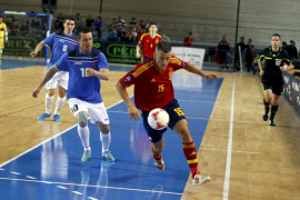 España goleó a Suecia con dos tantos de Miguelín